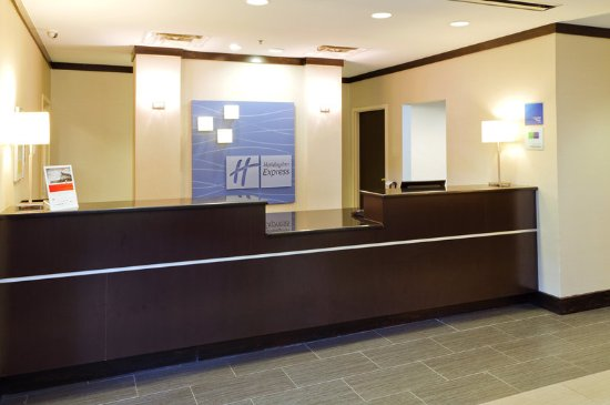 Holiday Inn Express Greenville Downtown: Our friendly staff will be happy to assist you with any questions