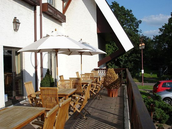Брекнел, UK: Outdoor Seating Area