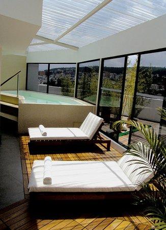 Sheraton Quito : Spa Terrace