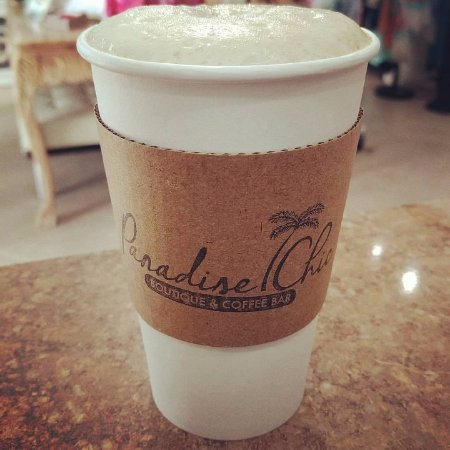 Singer Island, Floryda: Cappuccino, Espresso and Latte to go, please!