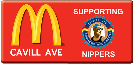 McDonald's: Supporting Surfers Paradise Nippers