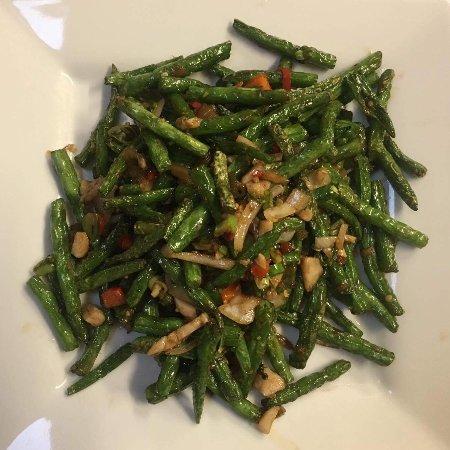 Robe, Australia: Szechuan Green Beans