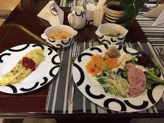 Guangming Hotel: 朝食バッフェ
