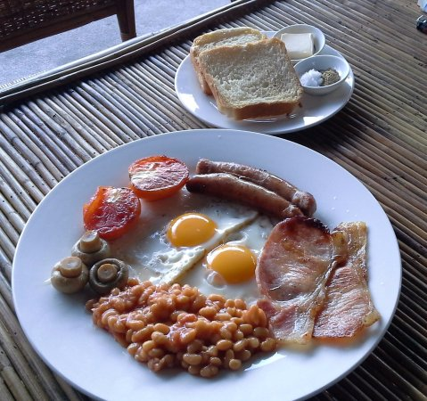 Koh Kong, Cambodia: Best breakfast in town....