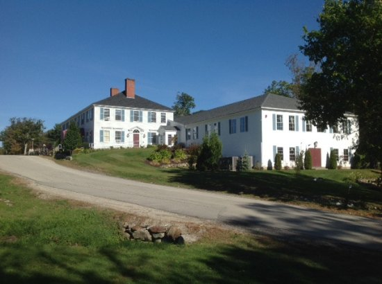Francestown, NH: Main building - welcome center/guest check in; pub/restaurant, and golf club store.