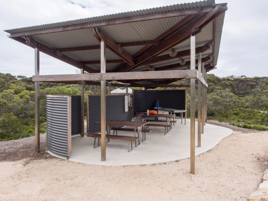 Kangaroo Island Wilderness Trail Typical Cooking Shelter