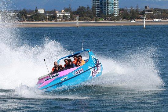 Main Beach, Australia: Jetboat fun at Gold Coast Watersorts