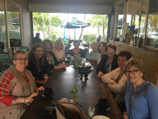 Coolum Beach, Australia: Staff looked after us very nicely for our reunion group. Lovely food with a wide range of choice