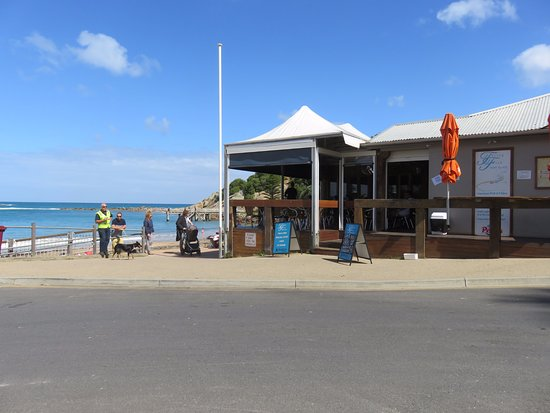 Port Elliot, Australia: Cafe on the beach