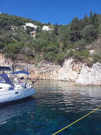 Gouvia, Greece: Just one of the spots Sam and Joe will take you to.
