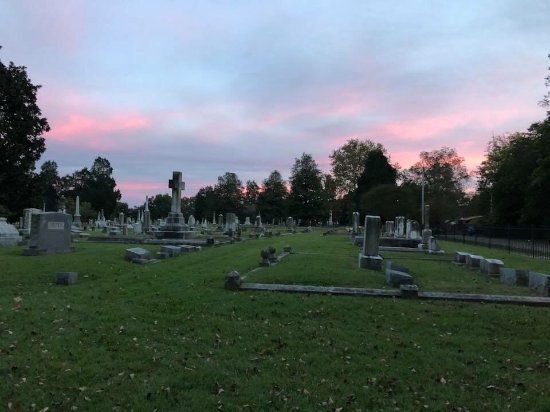 Holly Springs, MS: Hillcrest Cemetery Ghost Tour October 2017