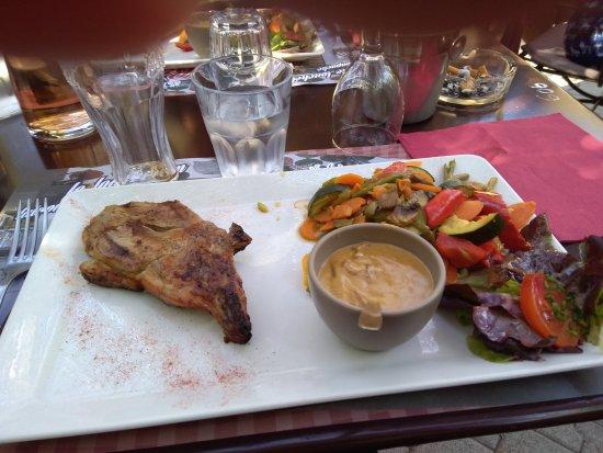 Robion, France: plat