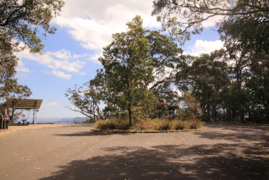 Camden, Australien: The view from the carpark