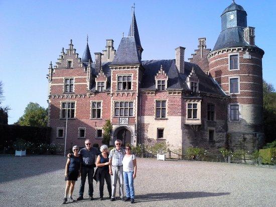Fouron-le-Comte, Belçika: Kasteel in het dorpje Dheer net over de grens in Nederland
