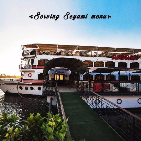 Andrea Memphis Floating Restaurant الباخرة اندريا ممفيس المعادى
