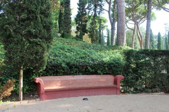 Banc En Pierre Picture Of Jardines De Santa Clotilde Lloret De