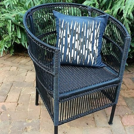 Harare, Zimbabwe: Outdoor furniture in the form of this upcycled chair, made in Zimbabwe