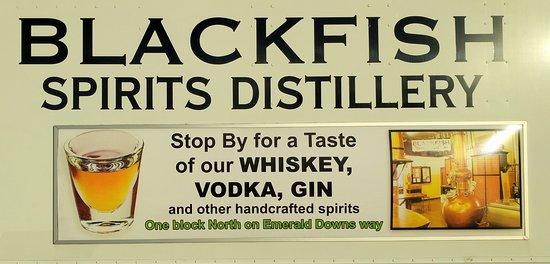 Truck-side, Blackfish Distillery, Auburn WA
