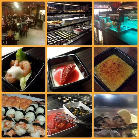 Vlaardingen, Holland: Onbeperkt Sushi's, Oesters, Wokken, Teppanyaki, Warm buffet, Dessertbuffet