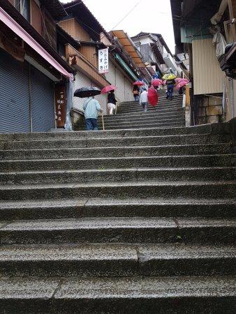 Kotohira-gu Shrine : ступеньки)