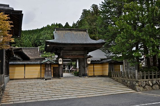 Koya-cho, Japonia: Entrance of Muryokoin