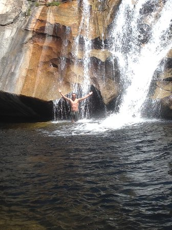 Mareeba, Austrália: The Emerald waterfall