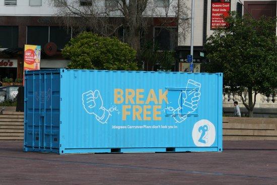 Auckland Town Hall: Curiosa forma de reivindicar
