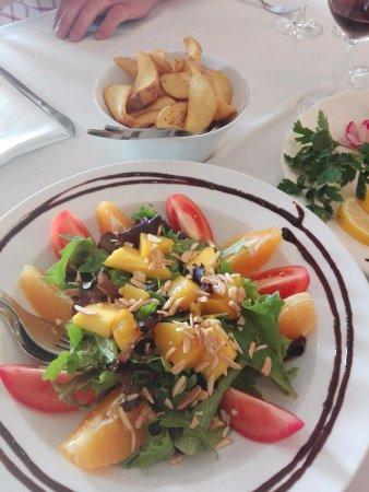 Marinha Grande, Portugal: .salada(acompanhamento)