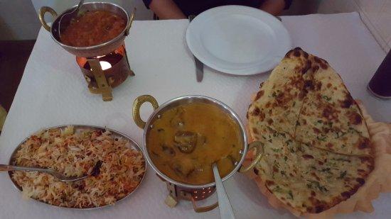 Maharaja Patiala Tandoori Restaurant: Hoofdgerecht