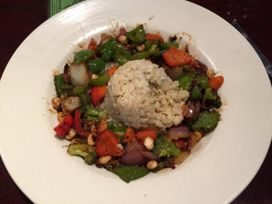 Oakdale, MN: Thai Stir Fry with Cauliflower Rice - Delicious!!
