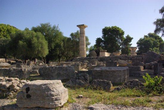 Starożytna Olimpia (Archaia Olympia): Swiątynia Zeusa