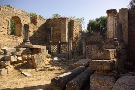 Starożytna Olimpia (Archaia Olympia): Warsztat Fidiasza