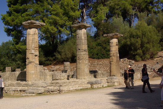 Starożytna Olimpia (Archaia Olympia): Świątynia Hery