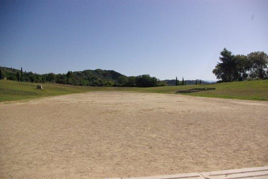Starożytna Olimpia (Archaia Olympia): Stadion Olimpijski 2500 lat