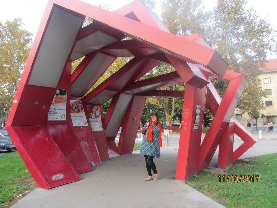 Tivoli Park: structure in tivoli