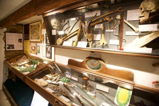 Boscastle, UK: exhibits