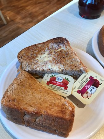Mount Carmel, UT: Delicious toast! Very good quality bread
