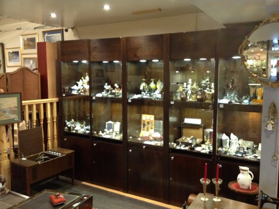 Old Coach House Antiques Centre: A Selection Of Our Collectables Cabinets