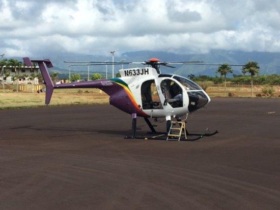 Jack Harter Helicopters - Tours: No doors!