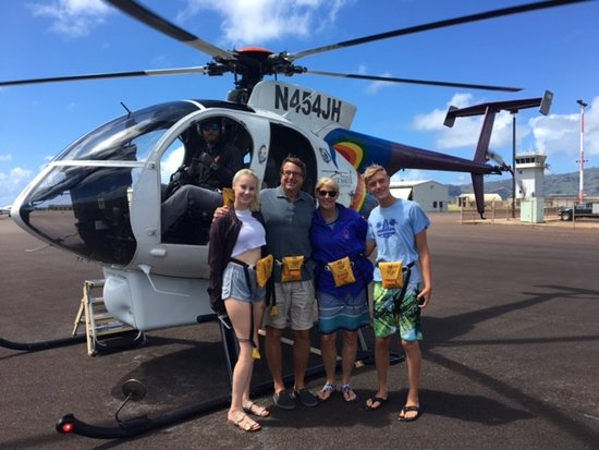 Jack Harter Helicopters - Tours: About to take off