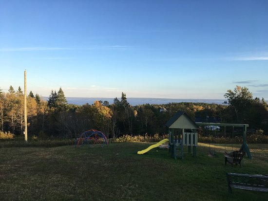 New Horton, Canadá: View from the front deck