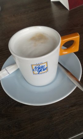 Велсен, Нидерланды: To finish the lunch with a nice Cappuccino -