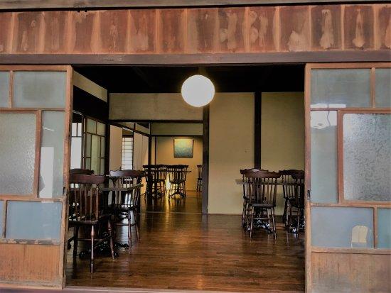 Sasayama, ญี่ปุ่น: ONAE棟のレストランにて