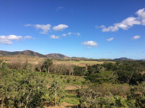 La Foa, New Caledonia: Vue depuis le gite