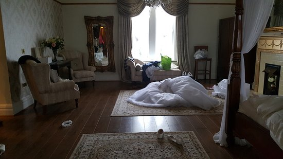 Ормскирк, UK: Bridal suite ... the morning after