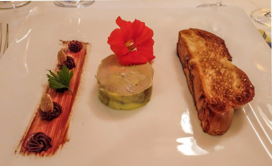 Hotel Taillard : If you have the foie gras with brioche, take it with a glass of Macvin.