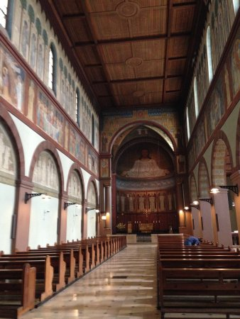 Benediktinerabtei St. Hildegard: Inside the Abbey of St Hildegard.