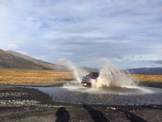 Hvolsvollur, Islandia: Super-jeep