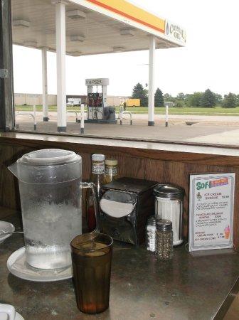 South Sioux City, Nebraska: Faire le plein d'essence et nourriture !
