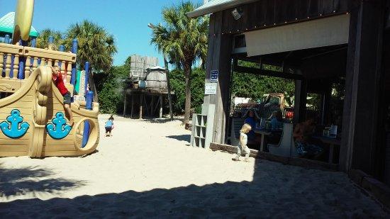 Flounder's Chowder House: Playground